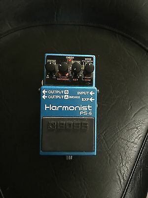 Used Boss PS-6 Harmonist Pitch Shifter Guitar Effects Pedal!