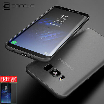For Samsung Galaxy S7 Edge S8 S9+ Plus Original CAFELE Thin Soft Cover TPU Case
