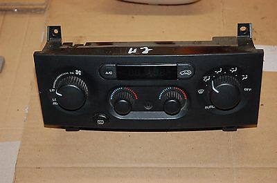 "Jeep Grand Cherokee A/C & Heater Control Panel ""WJ"" 99-04"