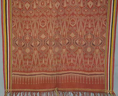 Pua kumbuh, ceremonial cloth used on several ritual occasions. Iban Dayak. Saraw