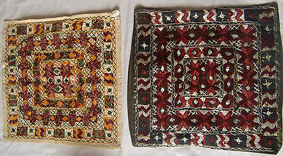 Beautiful Handmade Old Vintage Patch Work Cushions/pillow Cover India Fine Art 4