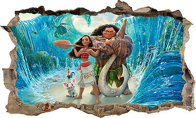 Vaiana - Moana 3D Wall Sticker