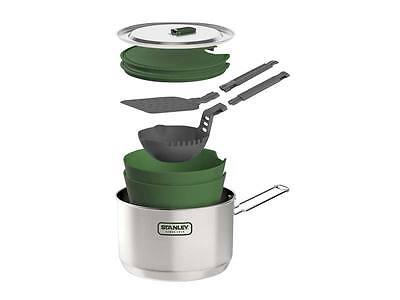 Stanley Adventure Edelstahl Prepper Outdoor Koch cook Set 10 Teilig