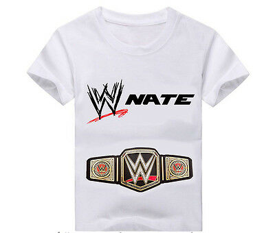 WWE T-Shirt, Birthday, Personalized T shirt, T-shirts, WWE