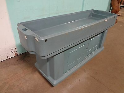 """ Cambro "" Heavy Duty Commercial Portable Youth Height Cold Food Buffet Bar"