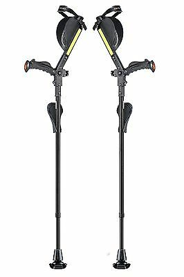 Ergobaum 6G Ergonomic Crutches in Carbon Fiber Material- Beautiful
