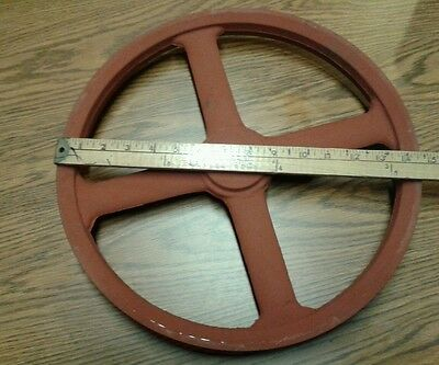Vintage flywheel pulley-Machinist- Lathe ???