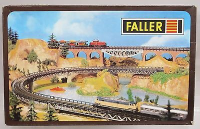 Faller 2903 4x Curved Ramps for Marklin Z-Scale