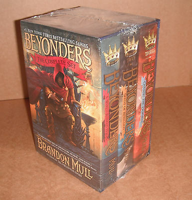 Beyonders The Complete Set by  Brandon Mull  Hardcover NEW
