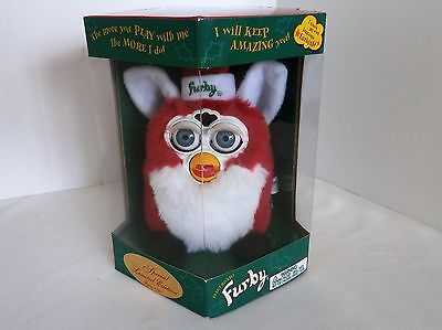 1999 Christmas Furby Special Limited Edition New Sealed Box Tiger Hasbro