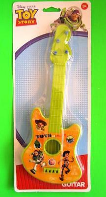 Disney TOY STORY Small Guitar 27.5cm Size Musical Instrument Toy NEW for Xmas
