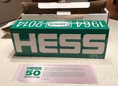 50th Anniversary Hess Toy Truck-1964-2014