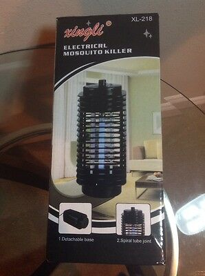 Electric Mosquito Fly Bug Insect Zapper Killer Trap Lamp 110V Stinger Pest H7