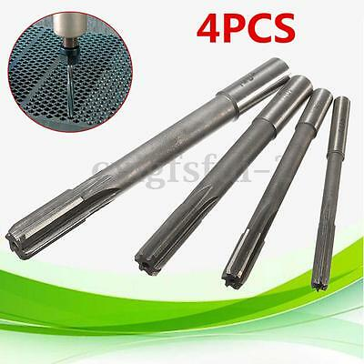 Set Of  6mm/8mm/10mm/12mm Straight Shank HSS Chucking Machine Reamer Drill Bit