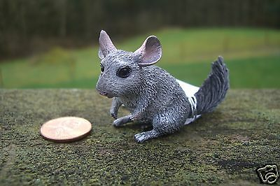 CollectA brand Chinchilla Animal Figure Figurine PVC w/ tag collectible