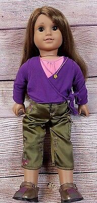American Girl Doll Marisol Luna Girl Of The Year 2005 with outfit Brown Hair