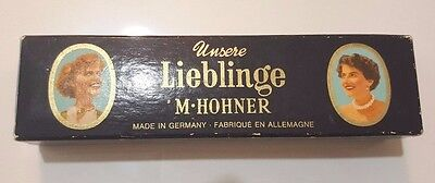 """""""unsere Lieblinge"""" Model 7330/40 M1 """"c"""" Curved Harmonica By M. Hohner With Box"""