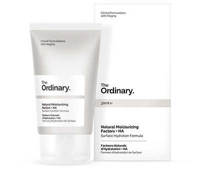 THE ORDINARY Natural Moisturizing +HA Hydrates Protects Skin From Moisture Loss