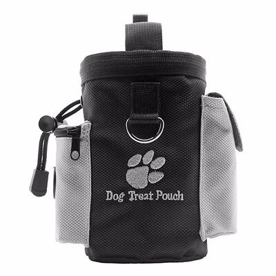 Waterproof Dog Pet Puppy Obedience Agility Bait Training Food Treat Pouch Bag