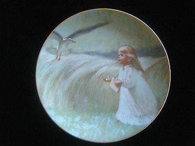 """A Friend in the Sky"" ~ 1st issue Precious Moments Plate Collection - Viletta"