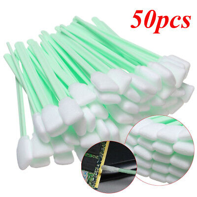 50 X LARGE INKJET PRINTER CLEANING FOAM SWABS For ROLAND MIMAKI MUTOH EPSON HP