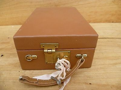 Vintage Old Large Size Ladies Vanity Kit, Old Vanity Case (E301)
