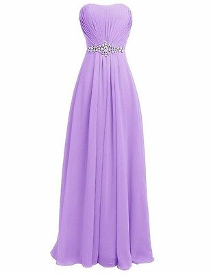 Women Long Dress Wedding Evening Ball Gown Party Bridesmaid Formal Prom COCKTAIL