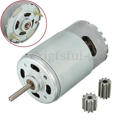 DC12V 30000 RPM High Torque Gear Box Speed  Motor Gearbox For Kids Jeep Ride Car