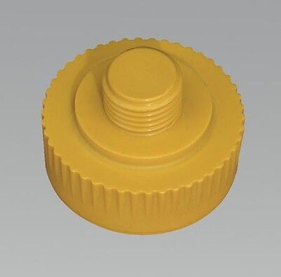 342/714Af Sealey Replacement Nylon Hammer Face, Extra Hard/yellow