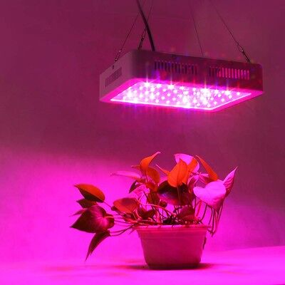 600W LED Grow Light Panel Lamp Full Light Spectrum Indoor Plant Veg Flower