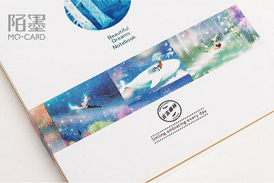 snowfield whale dream wings Washi Masking Tape Scrapbooking Decal stickers label