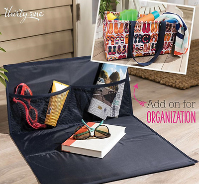 NEW Thirty One Large Utility Tote & Stand Tall Insert Bundle - YOU CHOOSE PRINTS