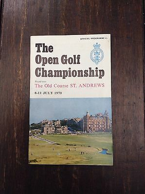 1970 99th Open Championship Golf Official Pogramme