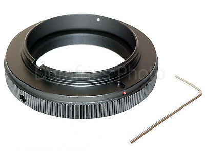 Quality T2 Lens to Sony Alpha Mount Adapter (fits Sony A-mount DSLRs and SLTs)