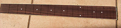 Slotted and bound Rosewood Guitar Fretboard