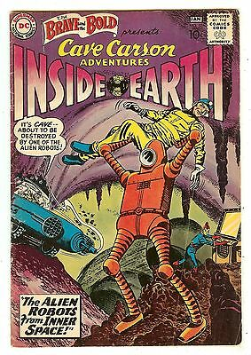 Brave And The Bold 33   Cave Carson