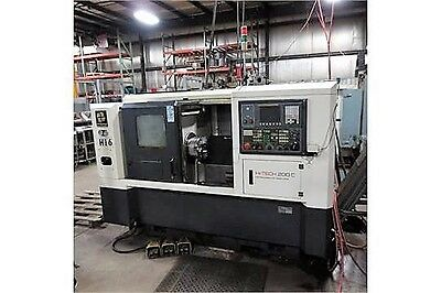 Hwacheon Model Hi-Tech 200C 2-Axis Cnc Turning Center Lathe, New 2006