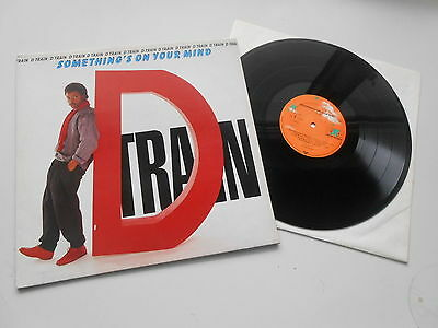 D.Train - Something's On Your Mind, DISCO LP, ARCHIVCOPY looks like NEW       HH