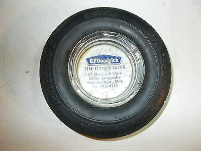 Vintage B. F. Goodrich Lifesaver Radial Tire Ashtray
