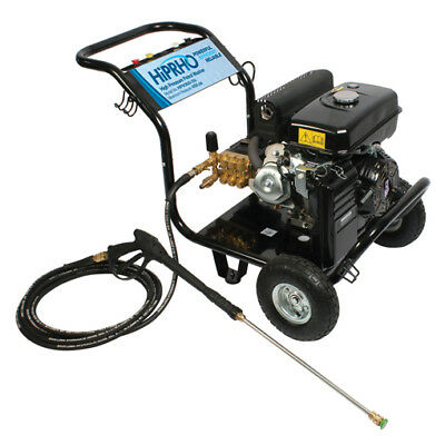Industrial Petrol High Pressure Washer / Jet Wash With Lance