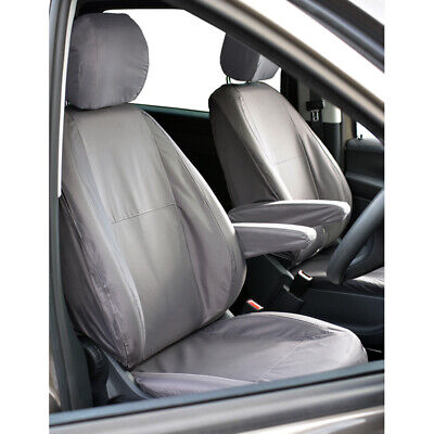 Land Rover Discovery 3 Front Inka Fully Tailored Waterproof Seat Covers Black