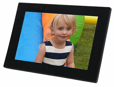 "NEW 10.1"" HD Digital Photo Frame Picture Memory View 16:9"
