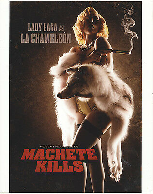 Lady Gaga/machete Kills/8X10 Original Photo Cc20315 5-27