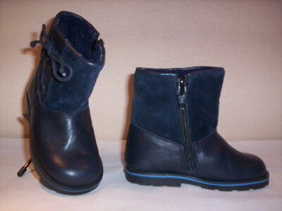 Shoes boots vintage Cipì newborn baby baby girl first steps blue 19 21