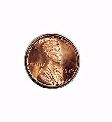 1974-D Lincoln Memorial 1 Cent Penny