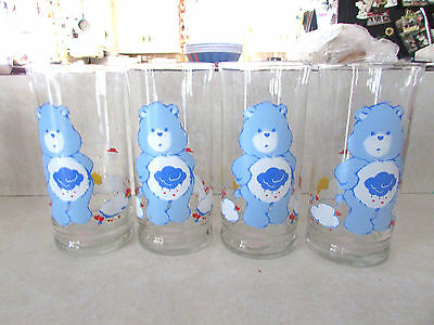 Care Bears Glass Grumpy  1983 Pizza Hut