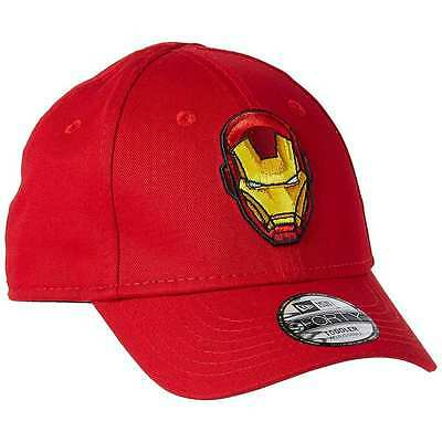 |80469054-RED| Gorra New Era – 9Forty Hero Essential Iron Man rojo 2017 Niños Al