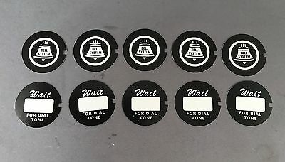 Western Electric Dial Cards - 10 Pack - Best on the Market! - SKU - 21595 - #3