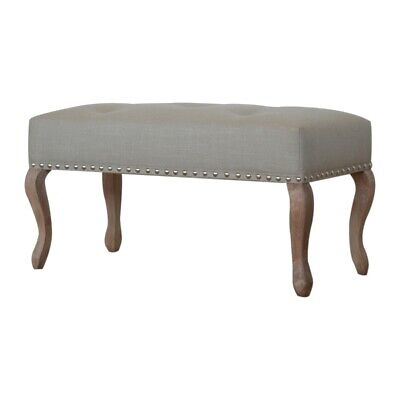 Navy Velvet  Foot stool bedroom seat Ottoman 24 HR SALE RRP 299
