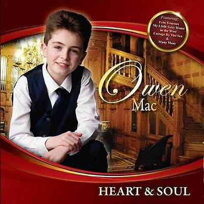 Heart & Soul CD by Owen Mac 2017 New/Coleraine/Derry/Ireland/Country Music Irish